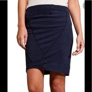 Boy.  Band Of Outsiders faded blue swear skirt